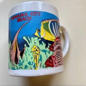 "Vintage Panama City Beach Coffee Mug Cup 3.75"""